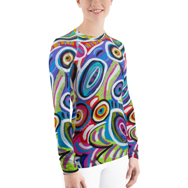 Dotty Women's Rash Guard