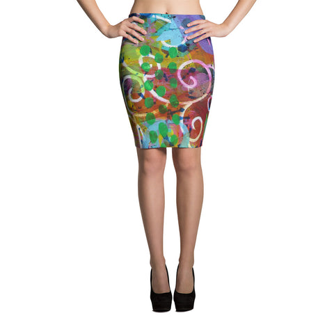 Time Pencil Skirt