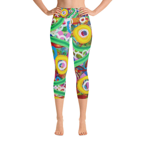 Green Line Yoga Capri