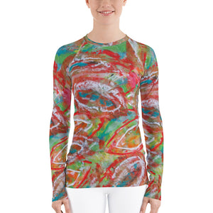 Paradise Women's Rash Guard