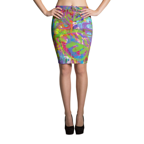 Turtle Pencil Skirt