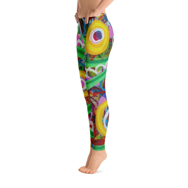 Green Line Leggings