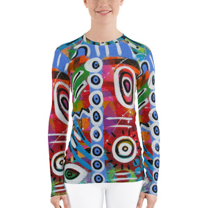 Jazzy Women's Rash Guard