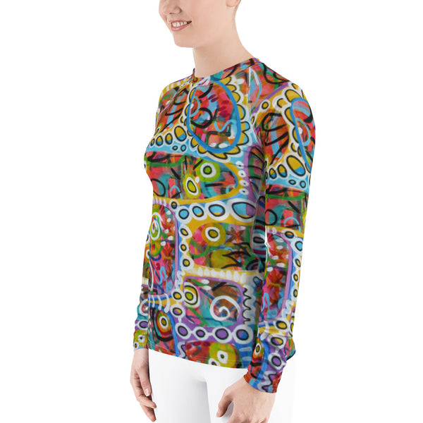 Holes Women's Rash Guard