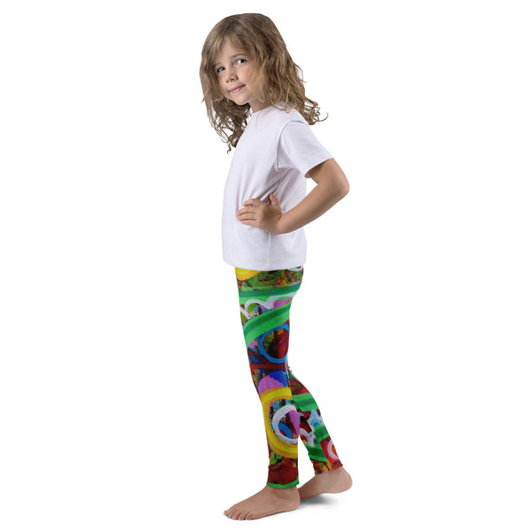 Green LIne Kid's leggings