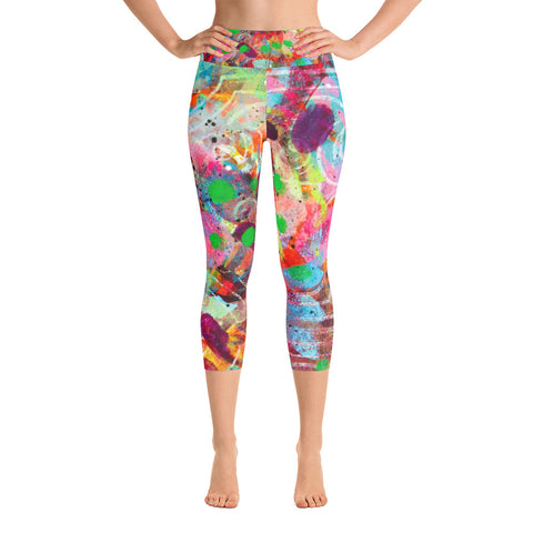 Fingerprint Yoga Capri