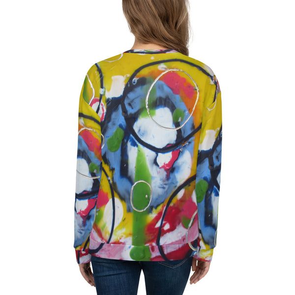 Blue Circle Unisex Sweatshirt