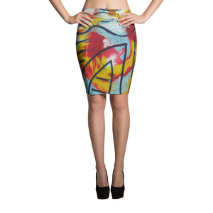 Hang Ten Pencil Skirt