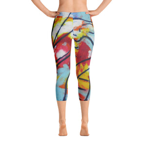 Hang Ten Capri Leggings