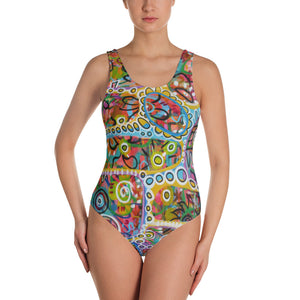 Holes 2 One-Piece Swimsuit