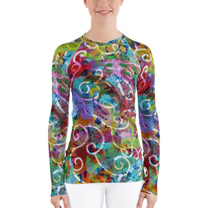 Time Women's Rash Guard