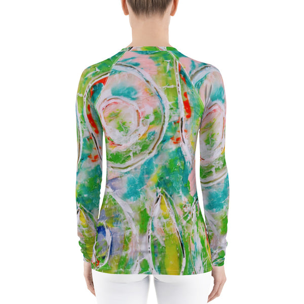 Sherbert Women's Rash Guard