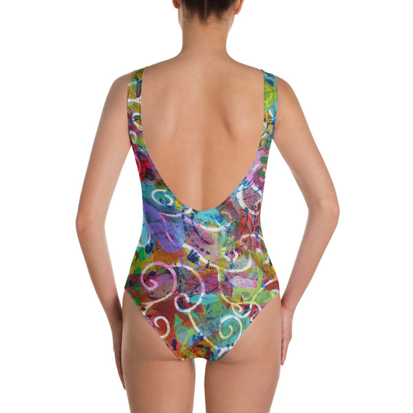 Time One-Piece Swimsuit