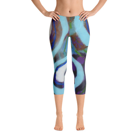 Jump Capri Leggings