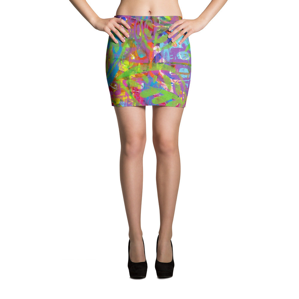Turtle Mini Skirt