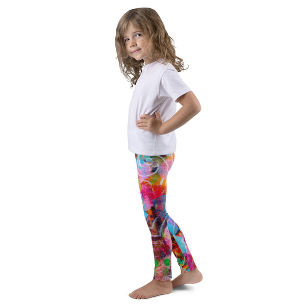 Finger Print Kid's leggings