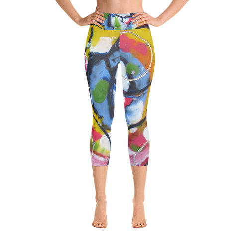 Blue Circle Yoga Capri