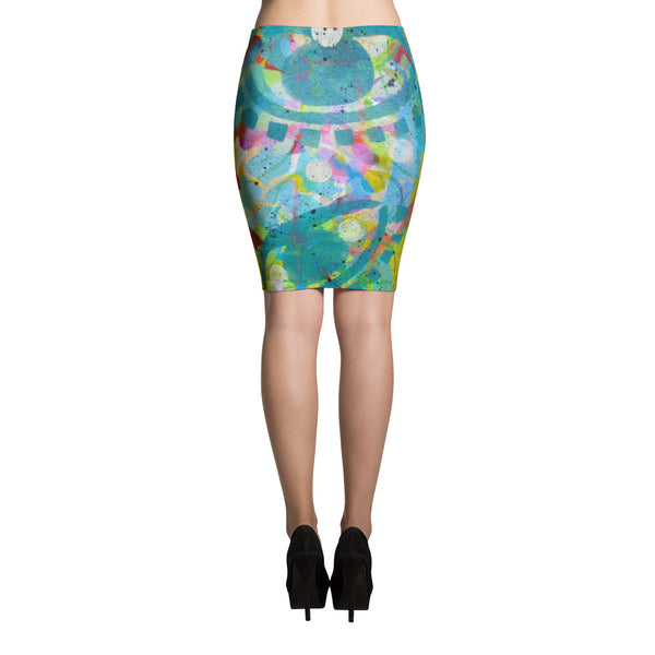 Eye See U Pencil Skirt
