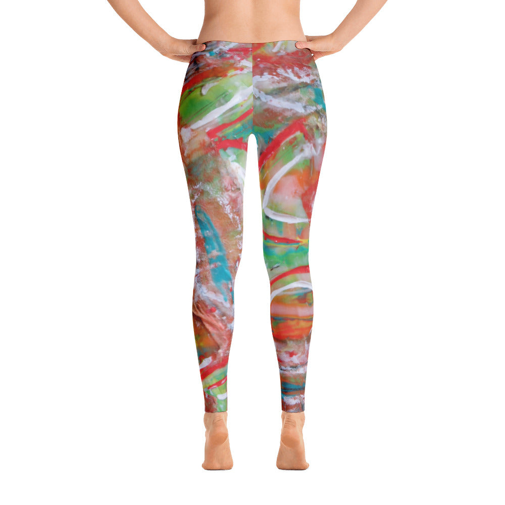 Paradise Garden 2 Leggings