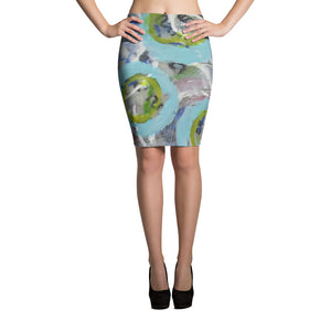 Bounce Pencil Skirt