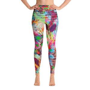 Fingerprint Yoga Leggings