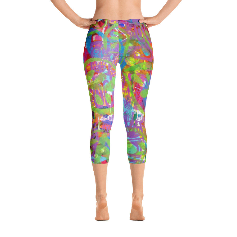 Turtle Capri Leggings