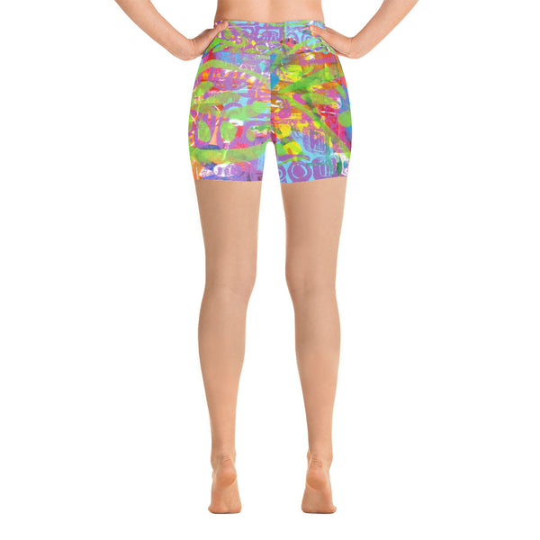 Turtle Yoga Shorts