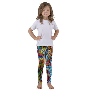 Colorful Holes Kid's leggings