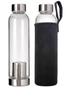 Bottle Infuser - Hot & Cold Brew - 20 oz/550ml  Borosilicate Glass