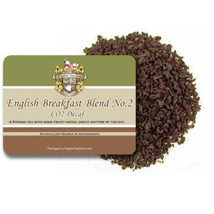 English Breakfast Blend NO 2 - Decaffeinated Loose Leaf Tea