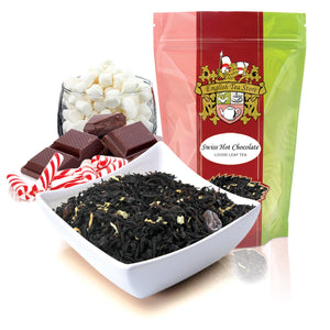 Swiss Hot Chocolate Flavored Black Tea - Loose Leaf