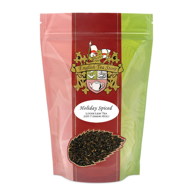 Holiday Spice Flavored Black Tea - Loose Leaf