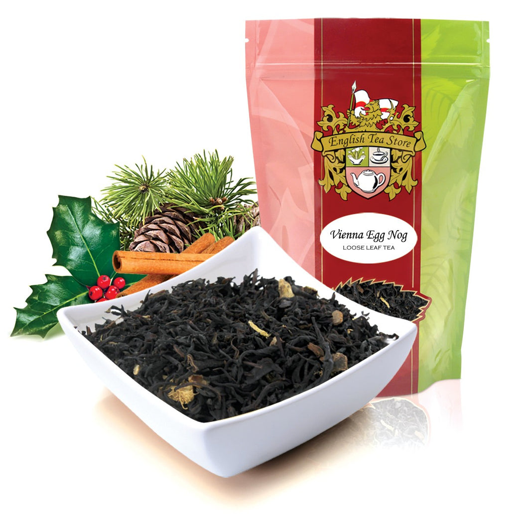 Vienna Eggnog Flavored Black Tea - Loose Leaf