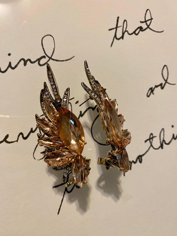 Amber Phoenix earrings