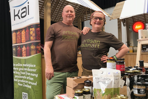 Greig Buckley and Catherine Smith Kai Foods