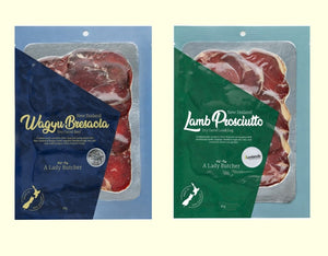 A Lady Butcher Beef & Lamb Charcuterie Collection of  two 60g packs