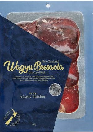 A Lady Butcher Charcuterie  Wagyu Bresaola two  60g packs