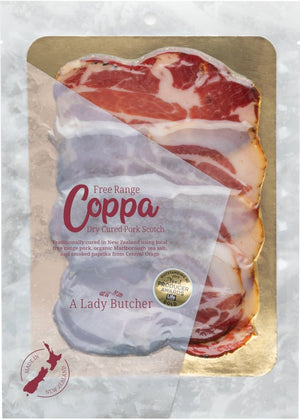 A Lady Butcher Charcuterie  Coppa two  60g packs