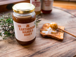 Earthbound raw Manuka Honey 500gm