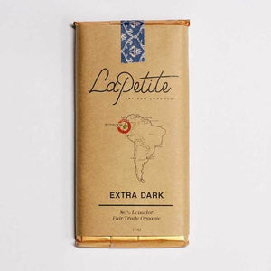 La Petite Chocolat Bar 80% Extra Dark 70gm