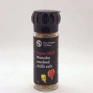 Fire Dragon Manuka Smoked Chilli Salt 85ml