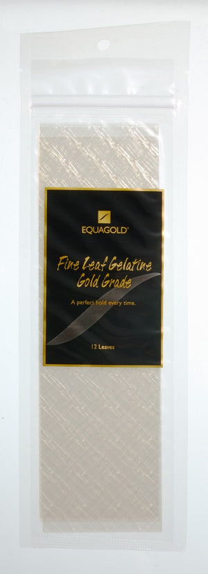 Equagold Gold Grade Leaf Gelatine 12 piece