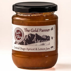 "Taste of the Alps ""The Gold Panner"" Apricot and Lemon jam 250gm"