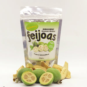 Heather's Freeze Dried Feijoas 25gm