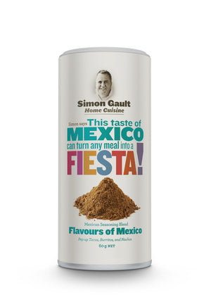 Simon Gault Home Cuisine Mexican Seasoning 60gm