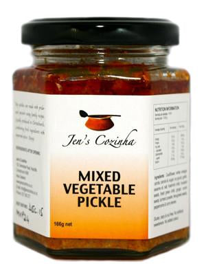 Jen's Cozinha's Mixed Vegetable Pickle 160gm