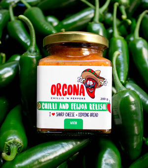 Orcona Chilli and Feijoa Relish 200g