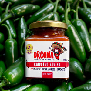 Orcona Chipotle Relish 200g