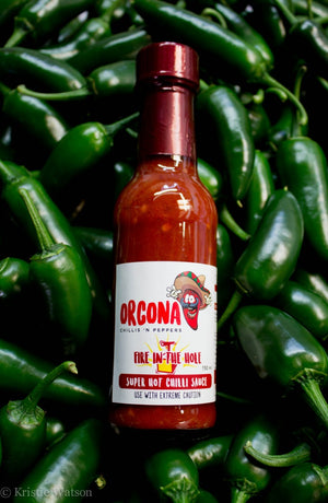 "Orcona ""Fire in the Hole"" Sauce 150ml"