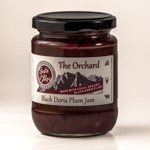 "Taste of the Alps ""The Orchard"" Black Doris plum jam 250gm"